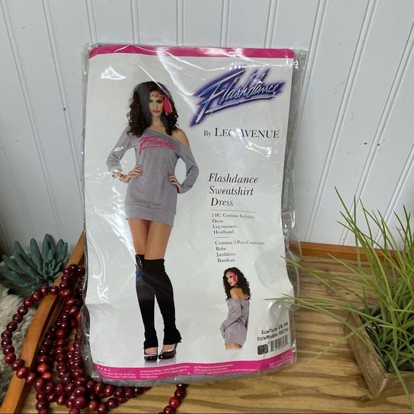 NEW Leg Avenue Flashdance Costume Size S/M